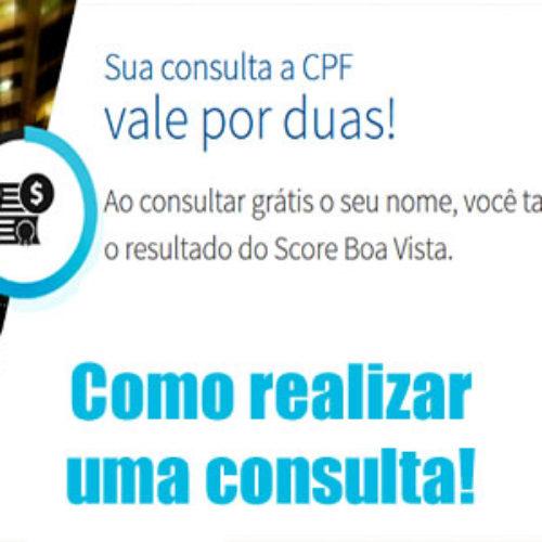 Como consultar de graça o CPF/CNPJ no Serasa/SPC Boa Vista online