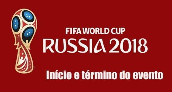 in 237 cio e t 233 rmino da copa do mundo 2018 fifa na r 250 ssia