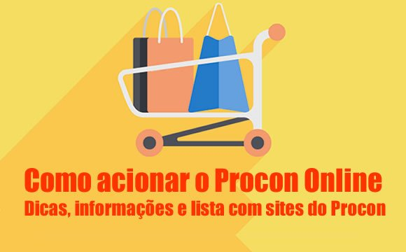 como acionar procon online lista sites procons estados