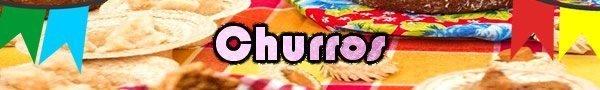 churros receita festa junina