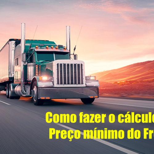 Como fazer o cálculo do Preço Mínimo de Frete online – Todas tabelas