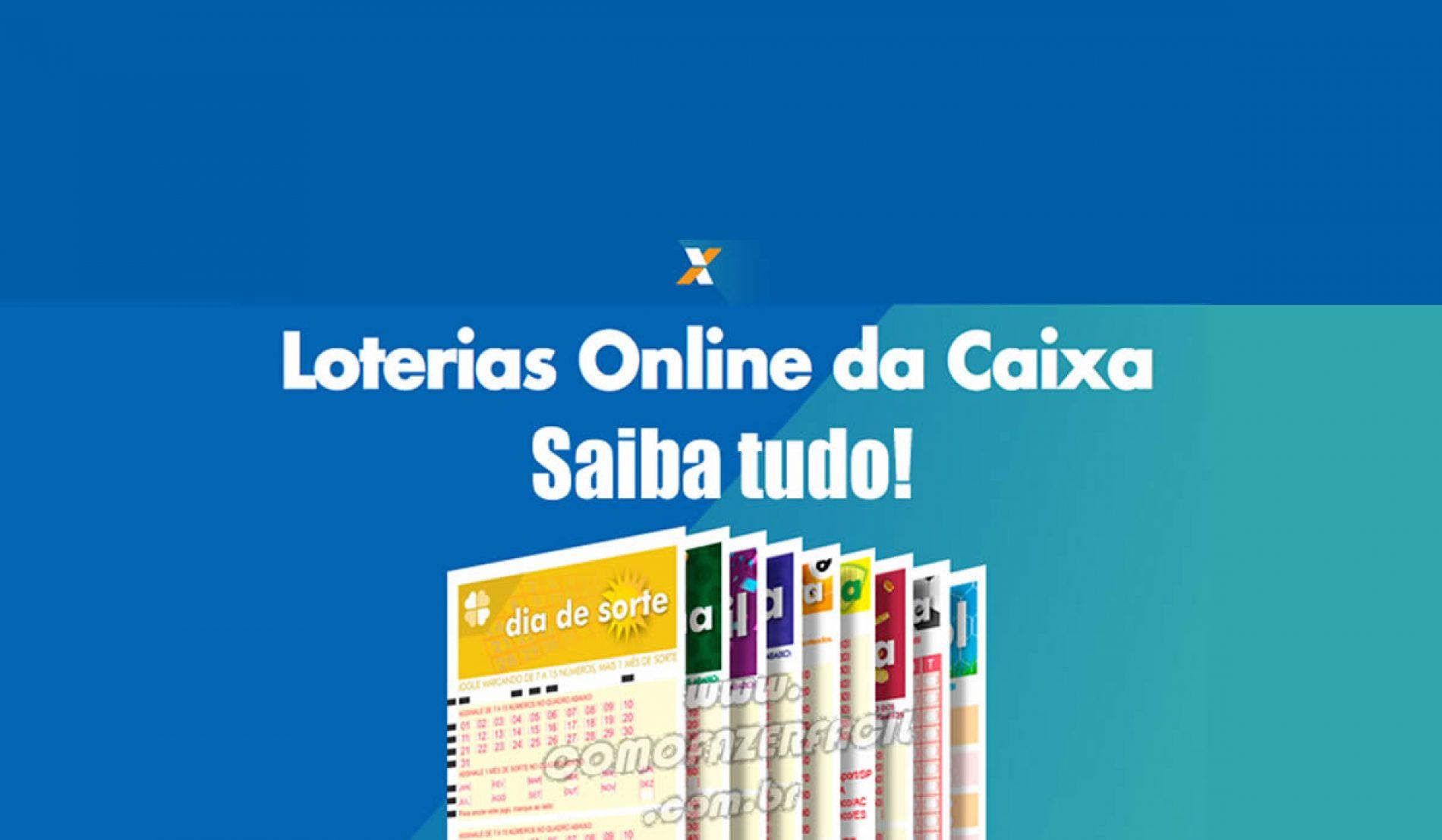 Como apostar nas Loterias Online Caixa pela internet