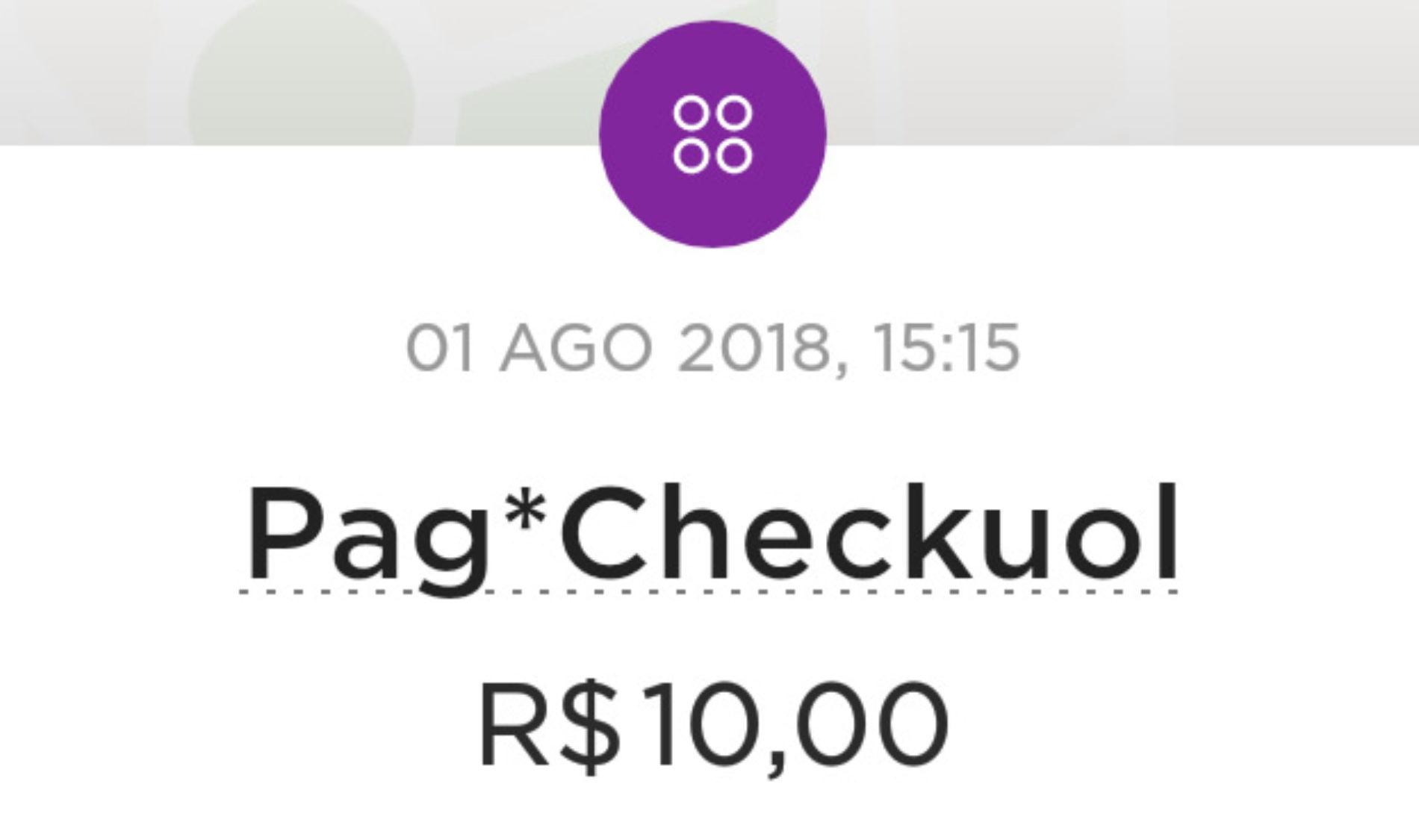 Pag*checkuol, o que é esta cobrança do UOL no cartão de crédito?