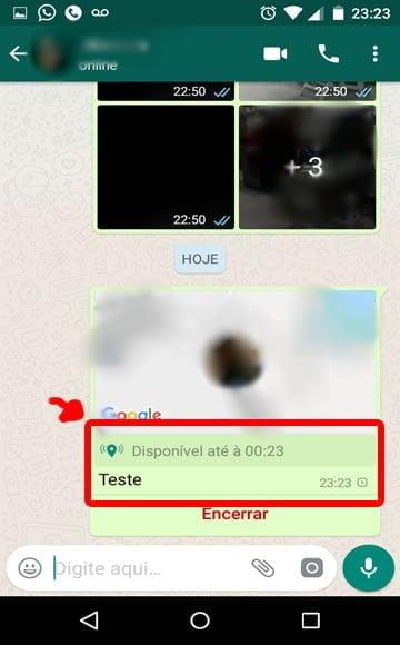 como fazer rastreamento alguem whatsapp