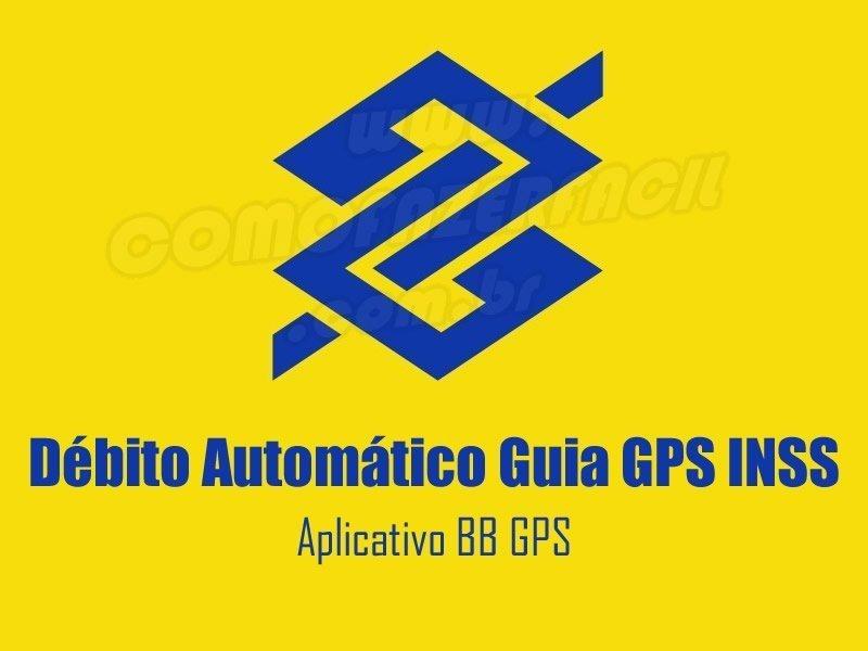 debito automatico banco brasil guia gps inss