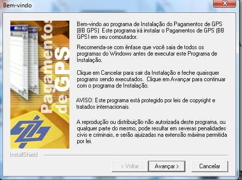 instalando banco do brasil gps aplicativo