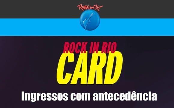 rock in rio card como comprar ingressos