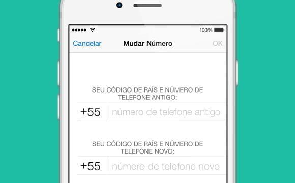 mudando numero conta whatsapp ios iphone