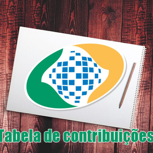 Tabela contribuição INSS Previdência 2019 – TODOS VALORES