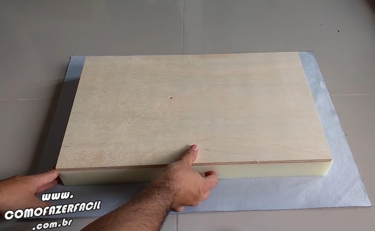 ajeitando modulo no tecido