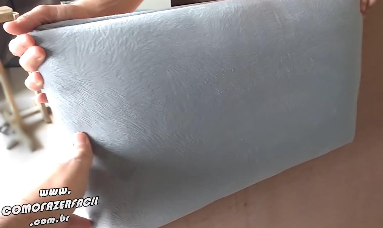 alinhando modulo na chapa de fixacao cabeceira