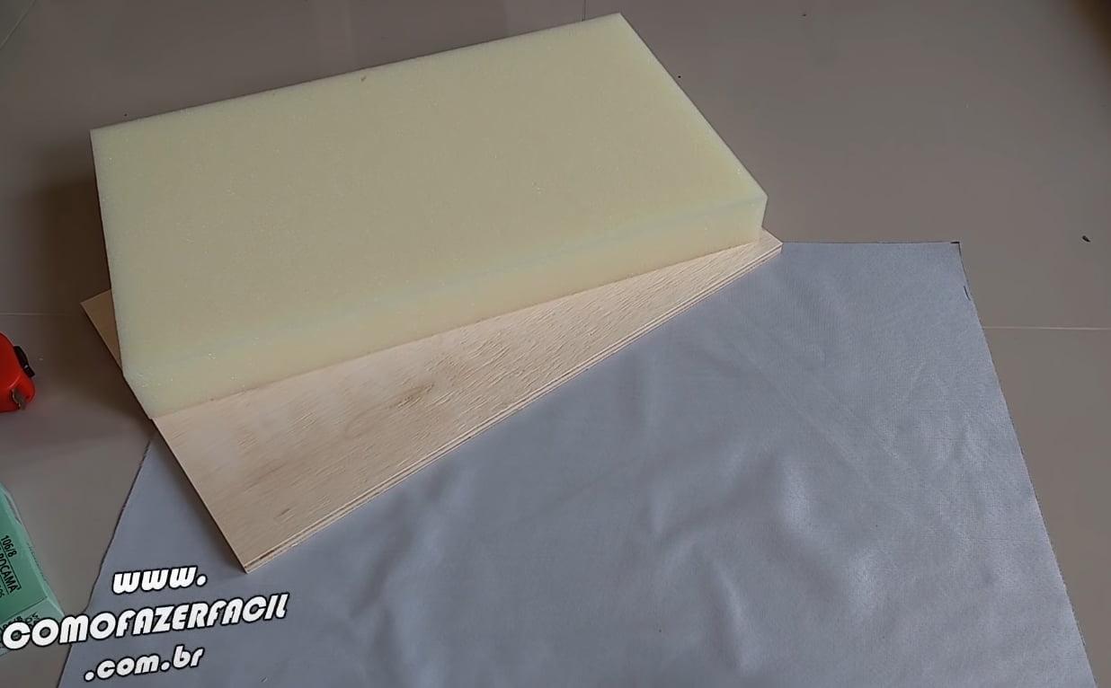 materiais para fazer cabeceira cama box modulos