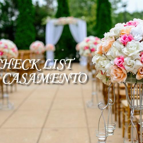 Como fazer um casamento? Lista (Check List) de preparativos