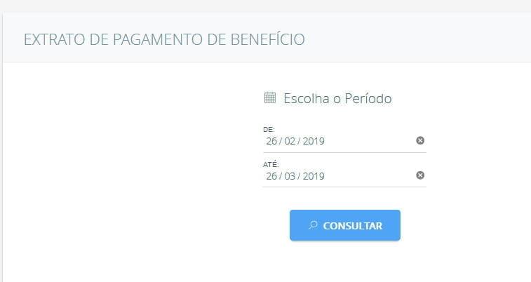 periodo pagamento beneficio bpc loas