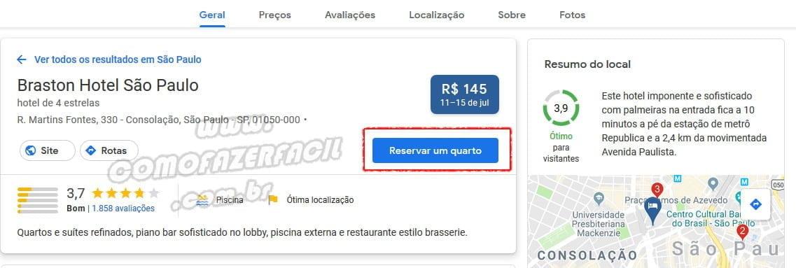 reserva hoteis promocao google flights black friday