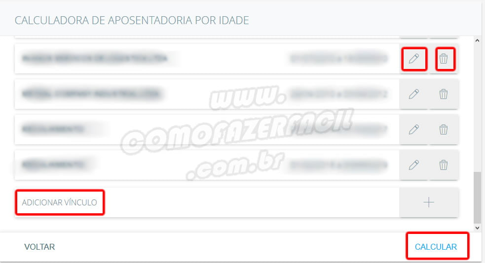 calculadora de beneficios aposentadoria inss com projecao de renda