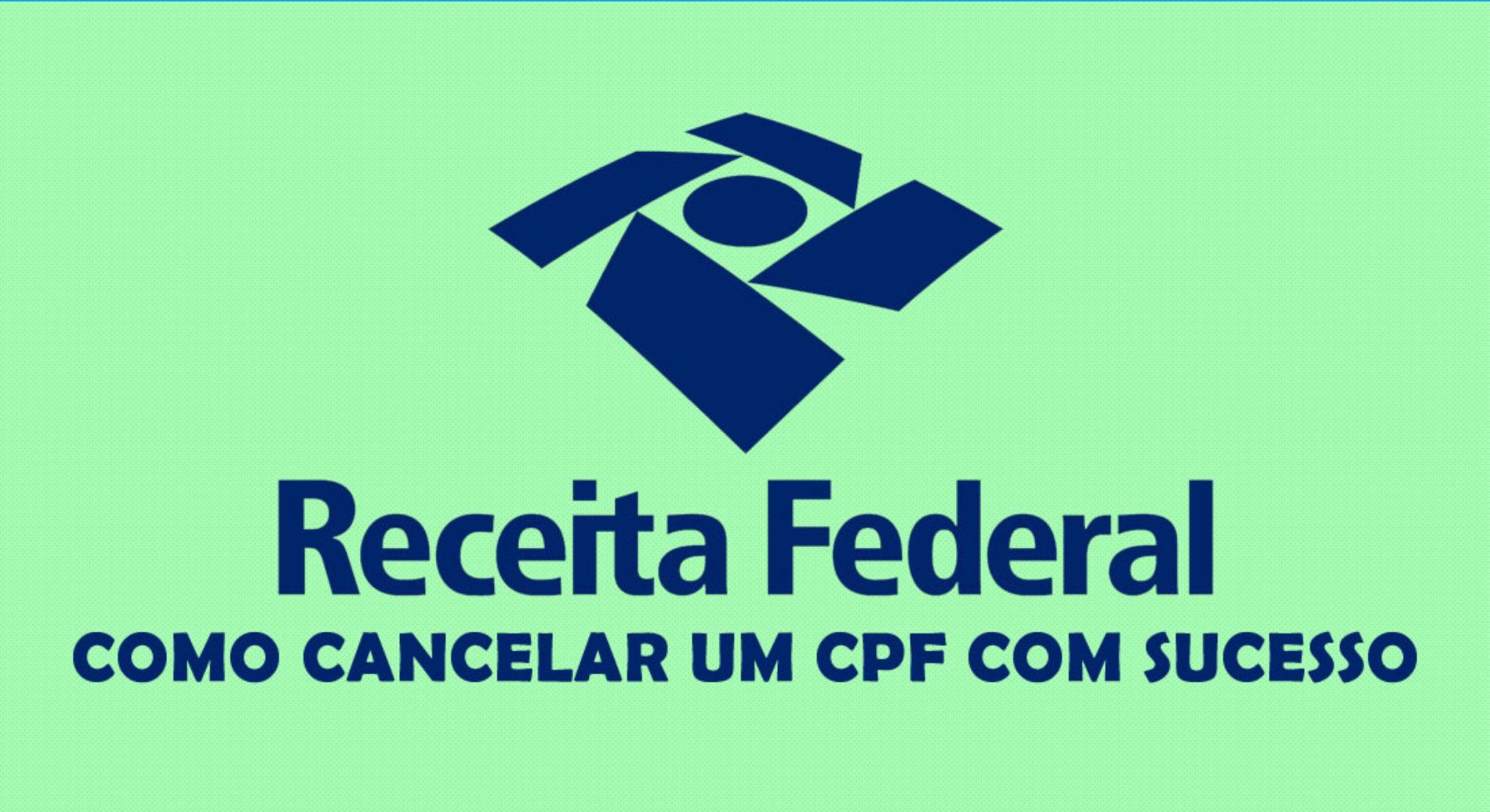 Como fazer para CANCELAR um CPF?