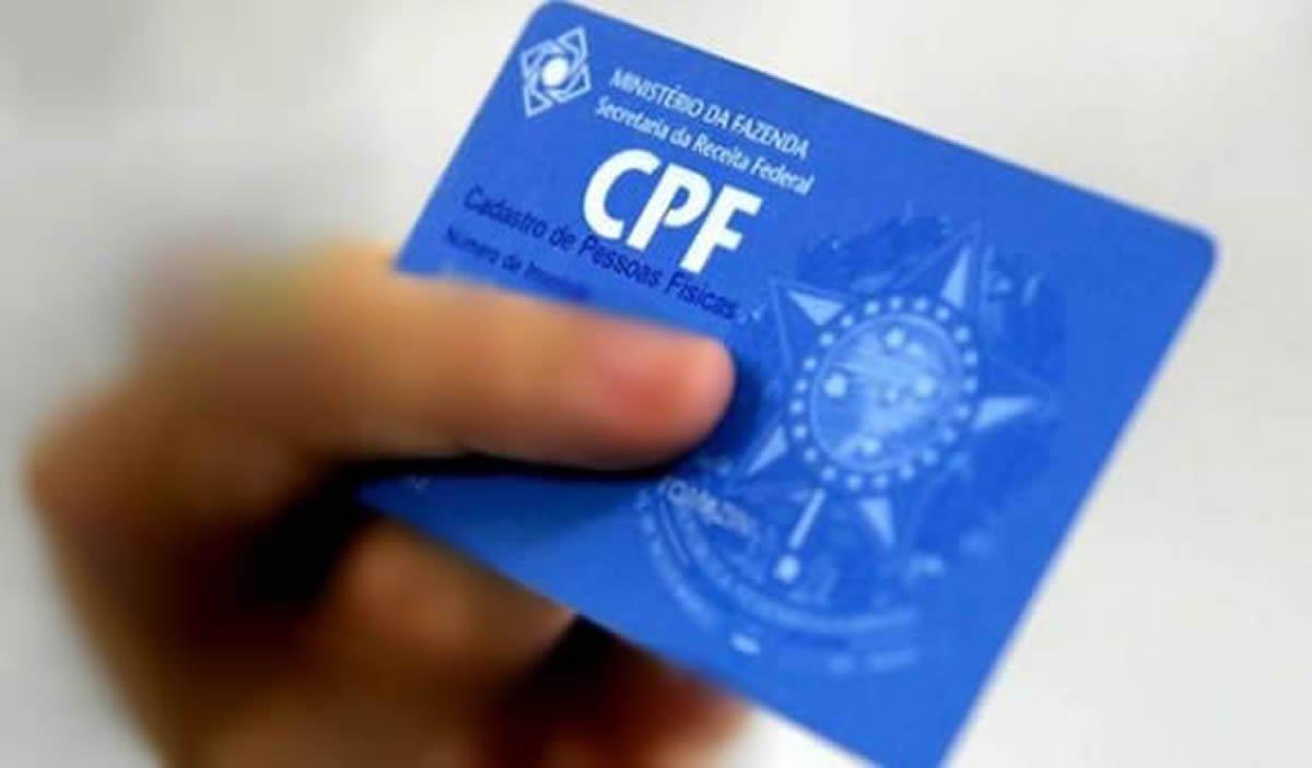 imprimindo cpf