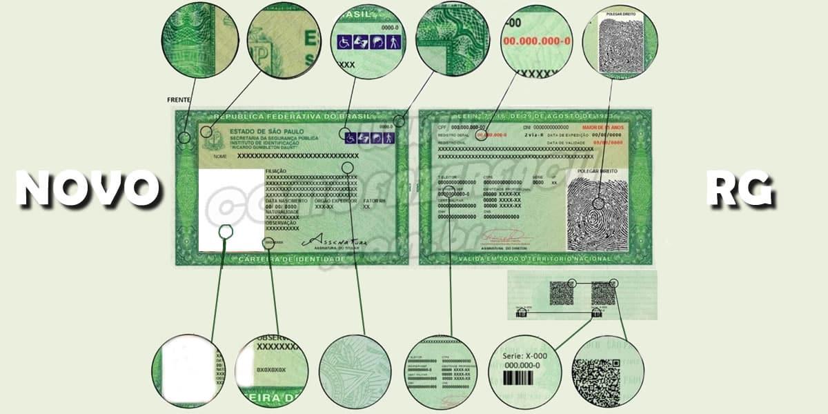 como fazer novo rg carteira identidade com qr code
