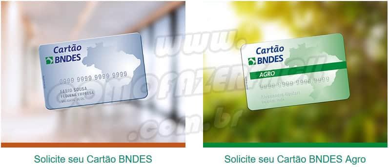 Como fazer o cartão do BNDES normal e o agro passo a passo.