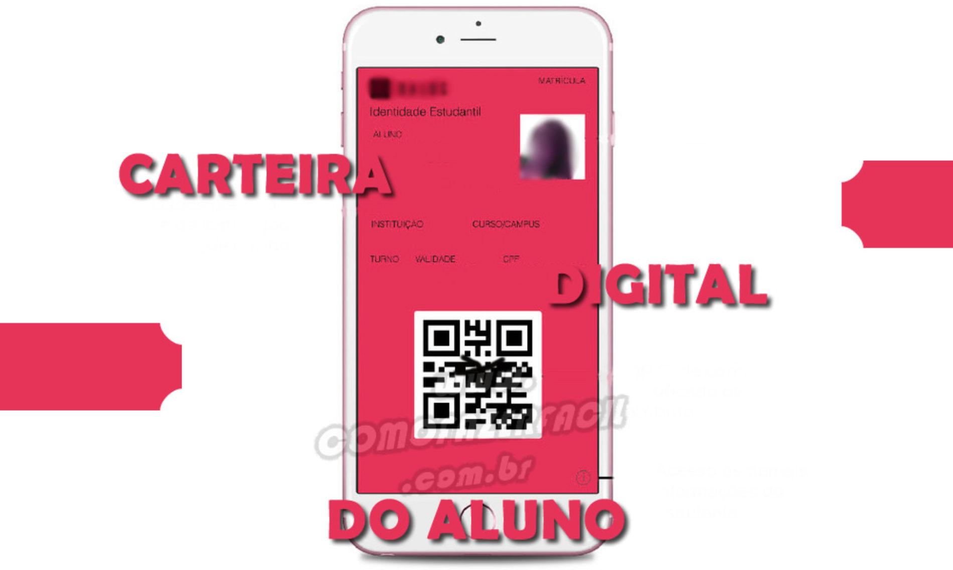 Como fazer a NOVA carteira ID estudantil DIGITAL, a carteirinha online!