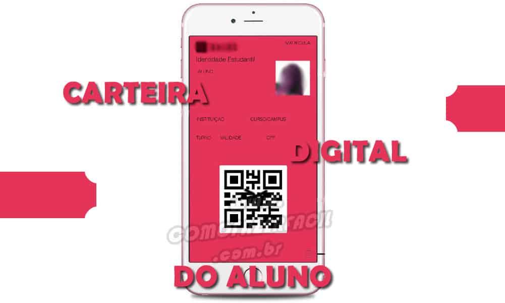 carteira estudantil digital alunos brasil