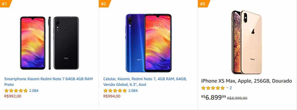 Promoções de celulares xiaomi e iphone na black friday Amazon. Melhores produtos em promoção na Amazon Prime Brasil.