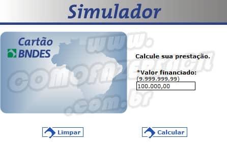 Conheça o simulador de empréstimos do BNDES.