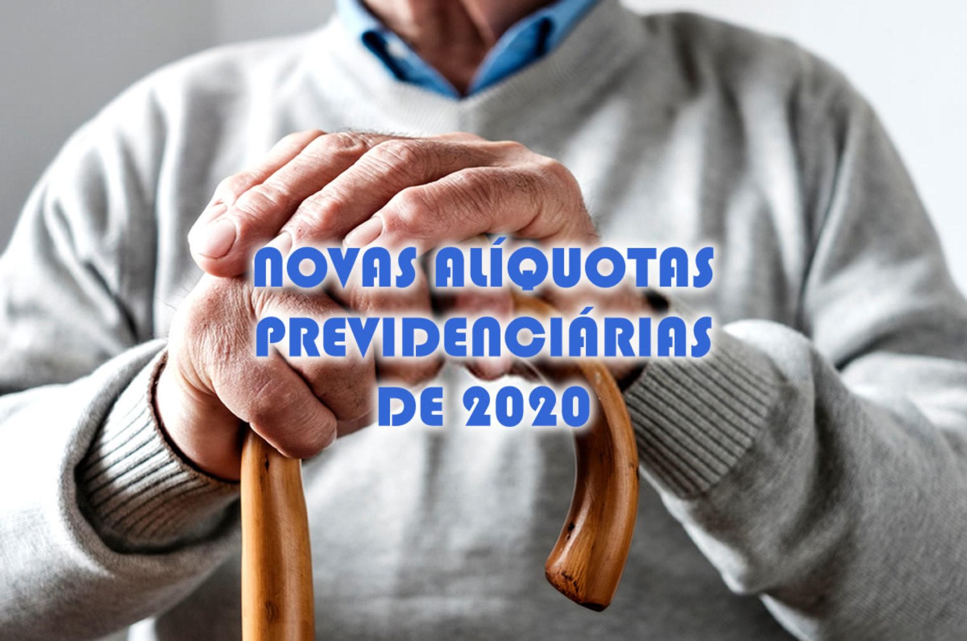 Novas alíquotas previdenciárias do INSS para 2020