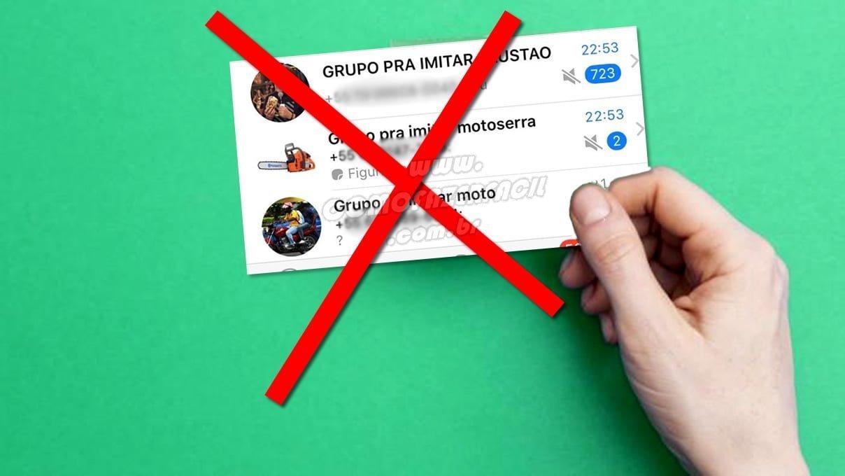 aprenda passo a passo como bloquear para nao ser adicionado mais em grupos do whatsapp aplicativo