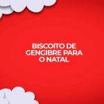 Como fazer receita de biscoito de gengibre, gingerbread, para o natal.