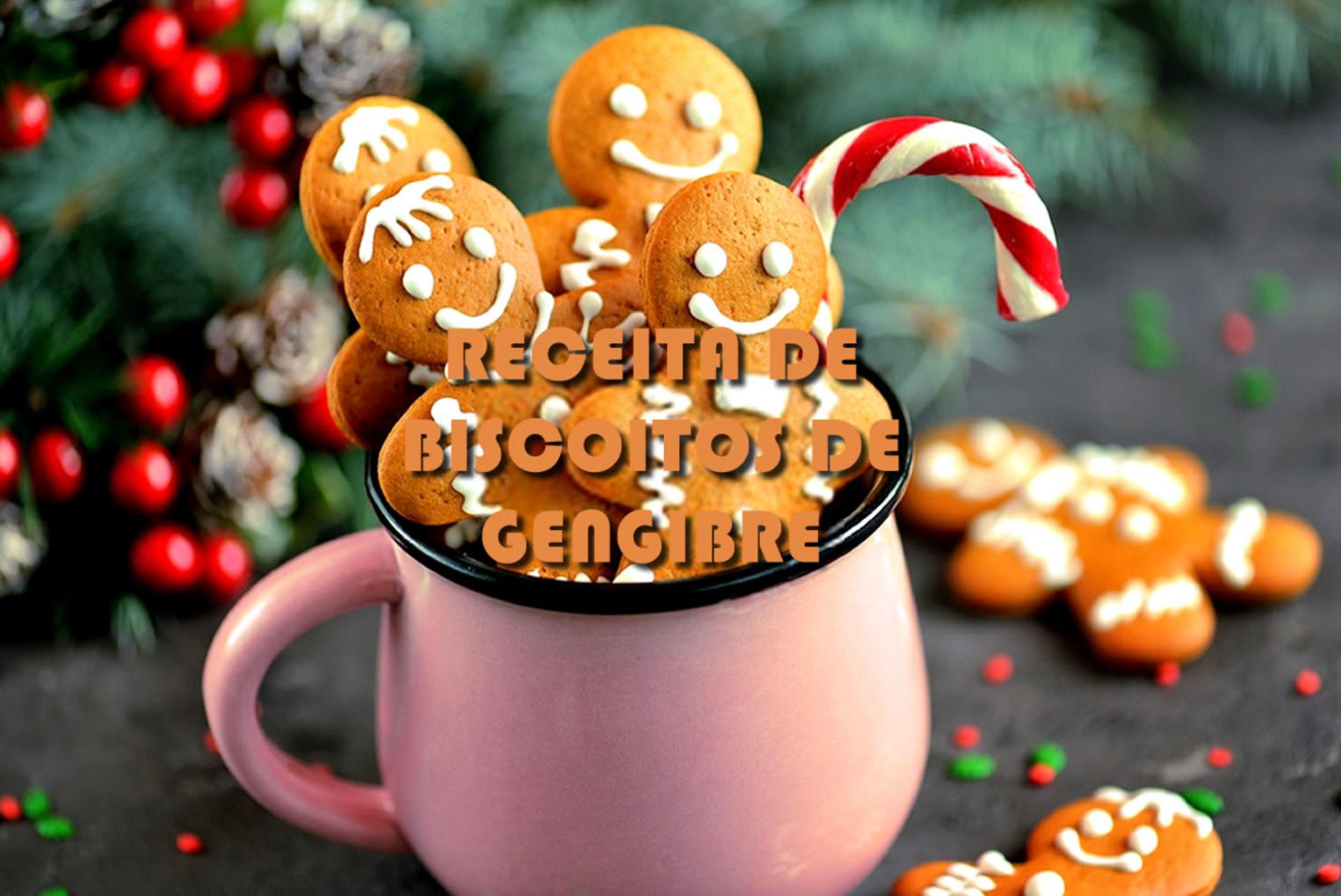 Como fazer biscoito de gengibre para o Natal – Gingerbread