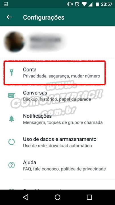 configurando conta para nao receber mais convites de grupo whatsapp