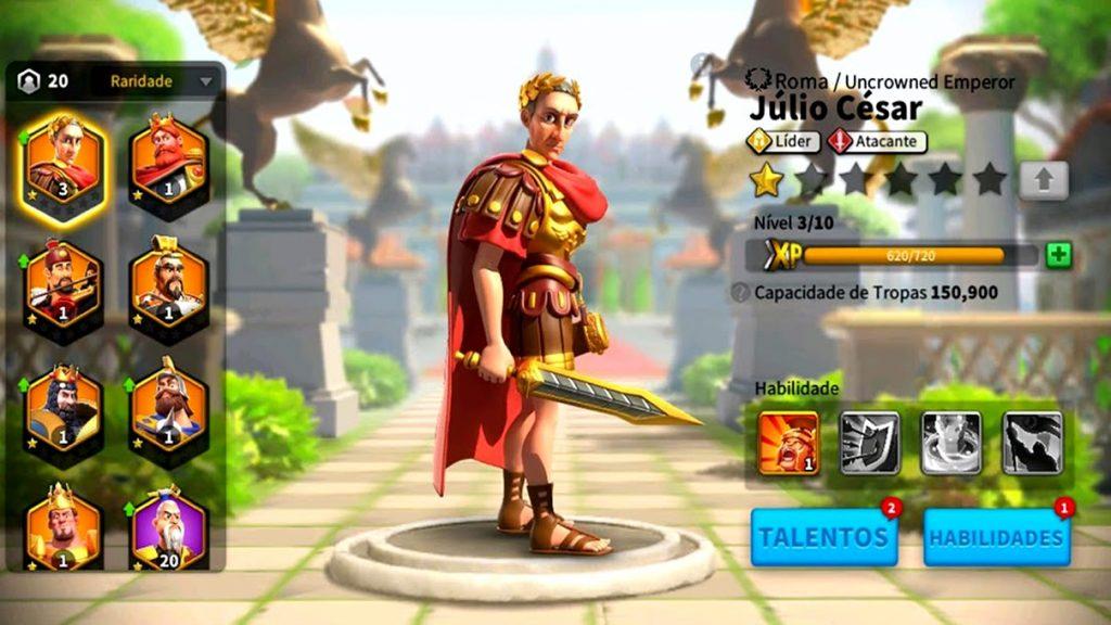 Rise of Kingdoms jogos para celular na quarentena de graça.