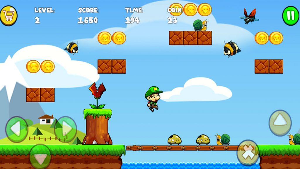 bobs world jogo imitação de mario world para celular