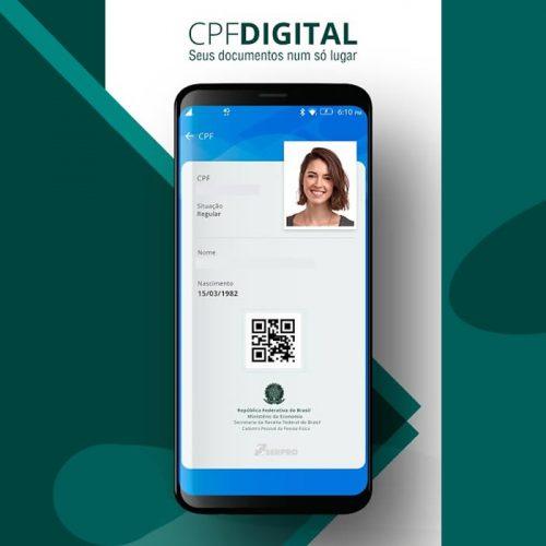 CPF Digital: Como fazer o documento para celular