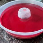 receita de gelatina recheada com flan muito facil