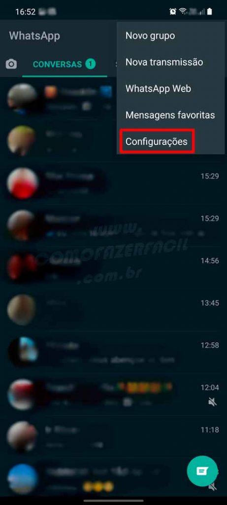 como ficar invisivel no whatsapp 2