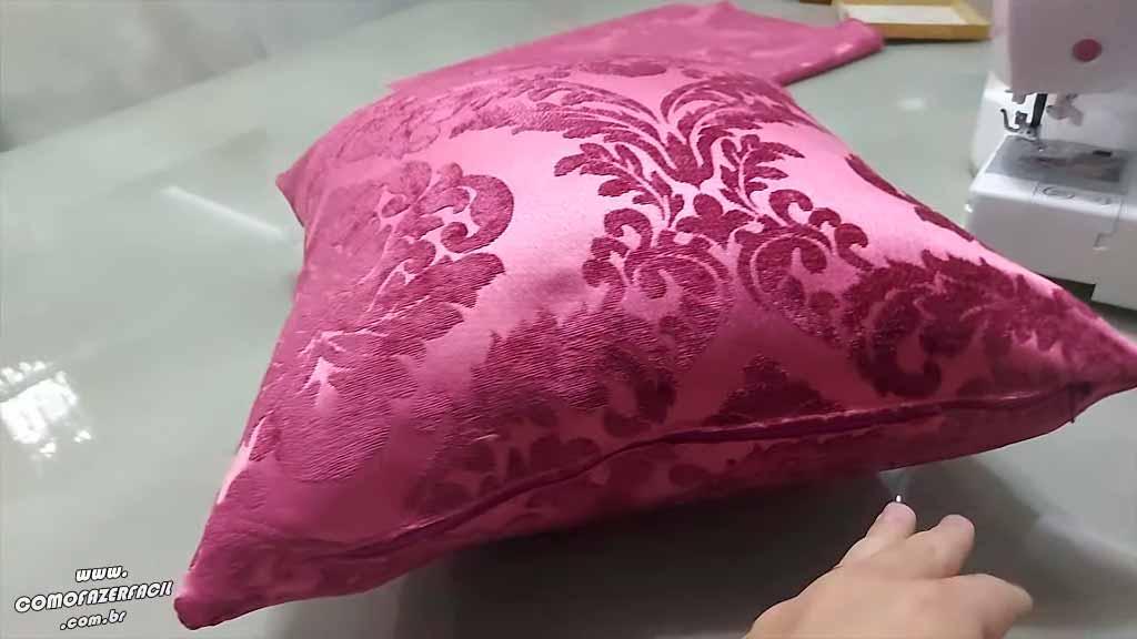 como fazer capa para almofada de sofa pronto
